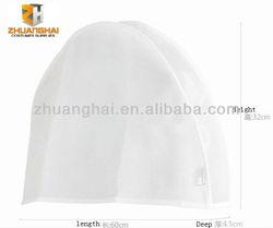short size cheap white non woven wedding dress cover