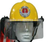 Yellow color korean half helmet fire proof helmet