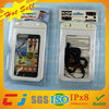 hot sale plastic waterproof swimming cover for galaxy note2 with ipx8 certificate