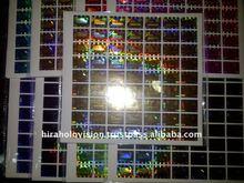 Dot - Matrix Holographic Sticker