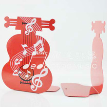 Violin Shape Bookends