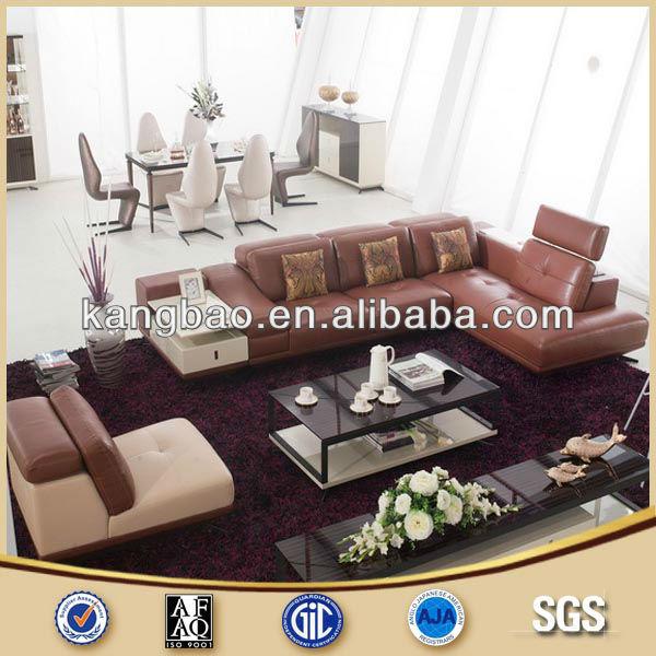 Moderne woonkamer lederen banken ontwerp woonkamer sofa product id 1206104616 - Ontwerp banken ...
