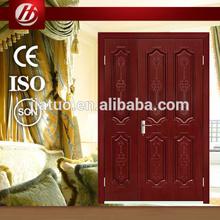 2014 Hot Sale The newest design one and a half leaves exterior steel door/security door