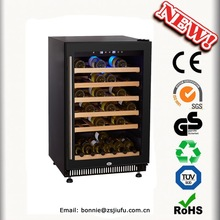 Bule LED Light Wine Coolers JF-54F 138L Wine Cellar Approved CE, CB ROHS ETL
