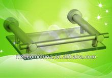 Aluminum and Glass Bathroom Accessory