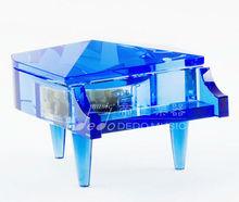 Blue Crystal Music Box