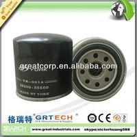 Hot sales car oil filter 26300-35500(8 holes), 26300-35056