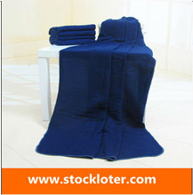 Solid Color 100% Polyester Fleece Throw Blanket stock