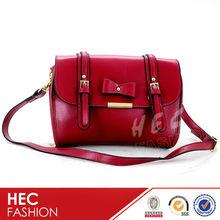 Hot Sale Fashion Girls Bow Decoration Double belts Shoulder Bag