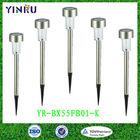 YINRU stainless steel solar garden light