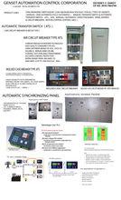 GENSET AUTOMATION CONTROL CORPORATION (Mobile landline: 02-6979411 / Mobile No: 09167863785)