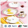 30 PC Square Ceramic Dinnerware /luxury fine china dinner set/Modern Square Dinner Set