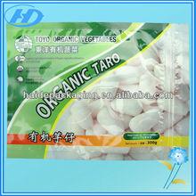 three side sealing compound zipper plastic bag