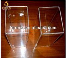 square quartz glass tube