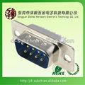 D-sub 9-контактный муёской высокой плотности разъемы