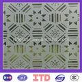 Itd-sf-sg0009 vetro sabbiato per porte con ccc& certificato iso