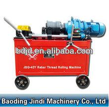 Rebar rib-peeling and parallel thread rolling machine/pipe threader