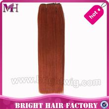 fashion yaki two tone human hair weaving