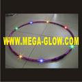 Led hulahoop, light up hula hoop, rainbow led bambolês