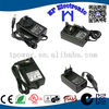 12V 2A 24W Wall Plug Switching Power Adapter With input 100-240V AC