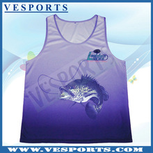 Custom Sublimation Tank Tops Fashion Design