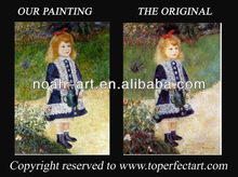 Girl with a Watering Can canvas wall art of Pierre-Auguste Renoir
