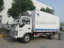 5Tons refrigerated van for sale/refrigerator cooling van for sale