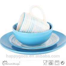 16pcs halloween ceramic dinnerware set