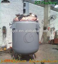 JCT machine for leather spray glue