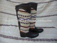 Long Kilim boots