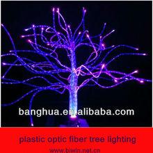 plastic optic fiber tree lighting