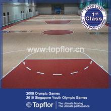 International PVC basketball court flooring for Indoor