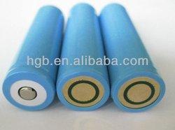 replaceable battery 18650 3.7v 2200mah li ion battery