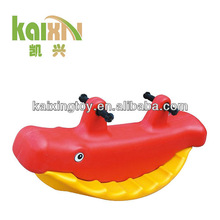 Outdoor Plastic Rocking Rider/Seesaw For Kids