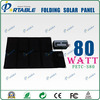 80W semi flexible Solar laptop Charger for bag
