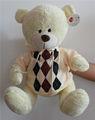 baixo preço grossista de vida tamanho traje de pelúcia urso de pelúcia