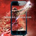 Protetor de tela de vidro telefone para o iPhone 5 oem / odm ( escudo de vidro )