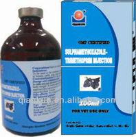 Veterinary Injection Medicine:Sulphamethoxazole Plus Trimethoprim Injection