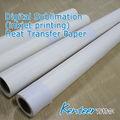 100 g sublimation papier für die Übertragung stoffdruck