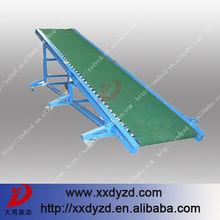 Hot durable in use transport belt loader system