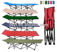New Design Heavy Duty Steel Camping Bed with 10 feets