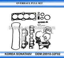Auto spare part engine repair kit for korean hyundai sonata2.0 8V G4P