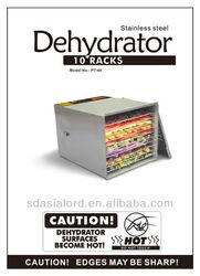 Food dehydrator _ PT-40-SK _ ETL approval _ CP65 report