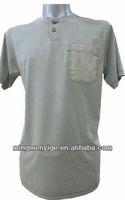 fashion style lastest washed cotton polo men's T-shirt