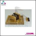 Kiw-ga10113 pilares de madera de juegos de platón