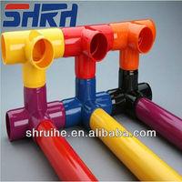 Attention!UPVC rigid color tube/colorful pvc tube