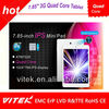 7.85'' Quad Core 3G mobile phone cheapest tablet pc made in china
