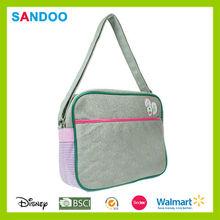 2015 hotsale quanzhou fashion PU leather kids sport sling bag