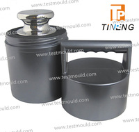 1g OIML standard E2 class nonmagnetic stainless steel single test weight