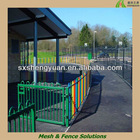 outdoor temporary playground security fences